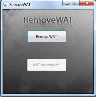 Removewat-2.2.8 Windows 7 Activator