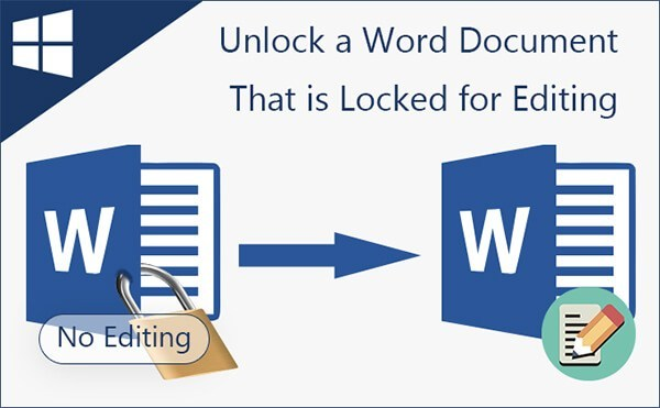 How to lock and unlock ms word file