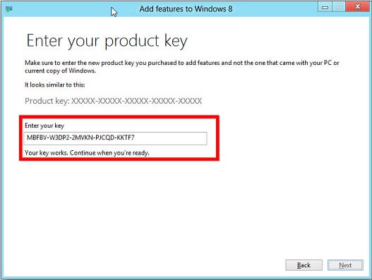 windows 8 product key