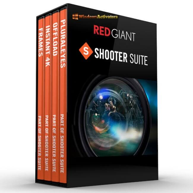 Red Giant Shooter Suite 2021 crack